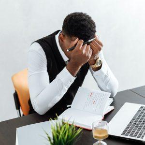 Delegate, stressed