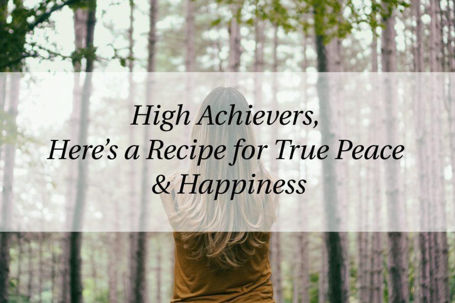 high achievers