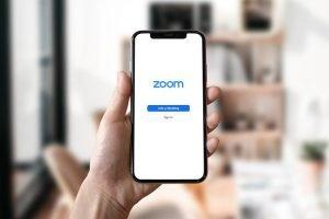 zoom call, job interview