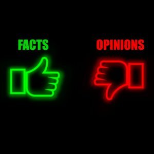 facts vs opinions, boss
